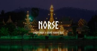 norese font 310x165 - Norse Font Free Download