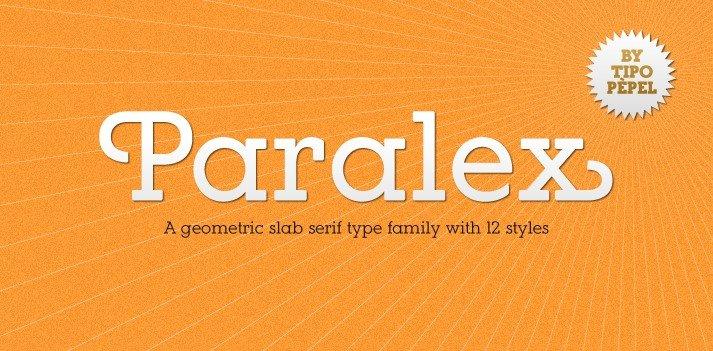 paralex font - Paralex Font Free Download