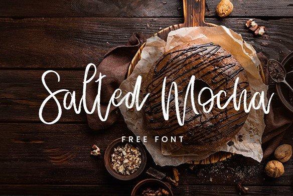 salted font - Salted Mocha Font Free Download