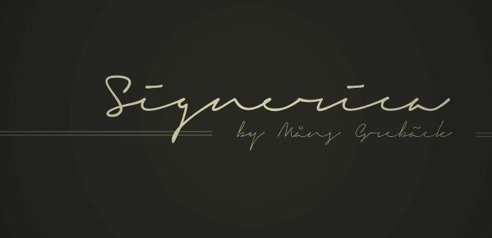 signarica font - Signerica Fat Font Free Download