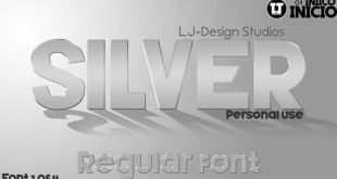 silver font 310x165 - Silver Forte Font Free Download