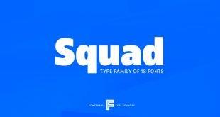 sqaud font 310x165 - Squad Font Free Download