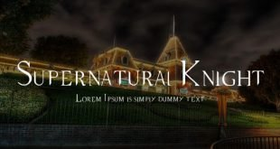 supernatural font 310x165 - Supernatural Knight Font Free Download