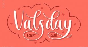 valsday font 310x165 - Valsday Script and Sans Font Free Download