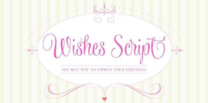 wishes script font - Wishes Script Font Free Download