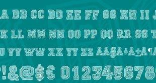 college font 310x165 - Ficticcia College Font Free Download