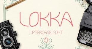 lokka typeface 310x165 - Lokka Typeface Free Download
