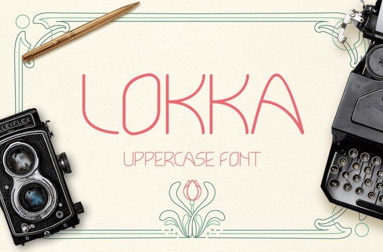 lokka typeface - Lokka Typeface Free Download
