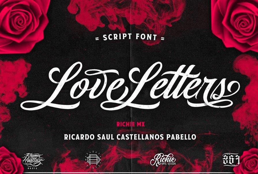 love letter script font - Love Letters Script Font Free Download