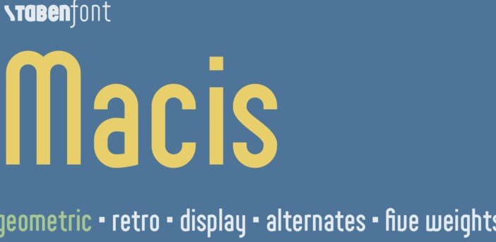 macis font - Macis Font Free Download