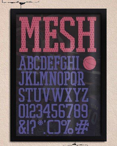 promesh font - Promesh Font Free Download