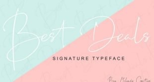 Best Deals Font
