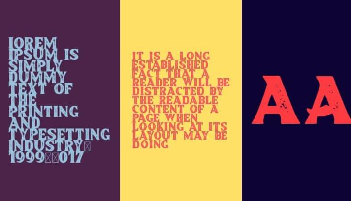Brother Lands font