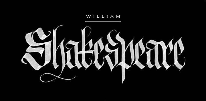 William Shakespeare Font