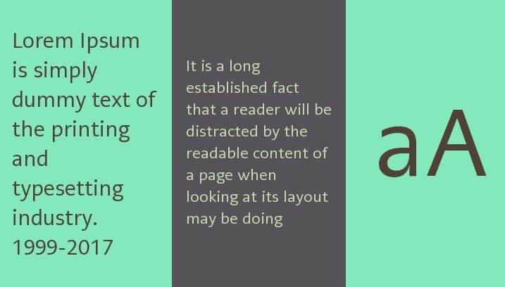 Caecilia font
