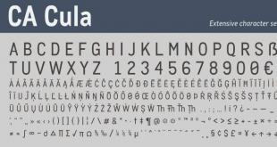Cula Font
