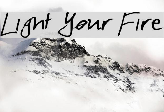 Light Your Fire Font