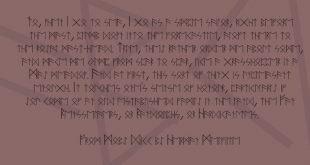 Runen Font