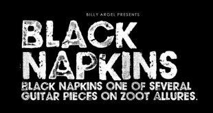 black napkin font 310x165 - Black Napkins Font Free Download