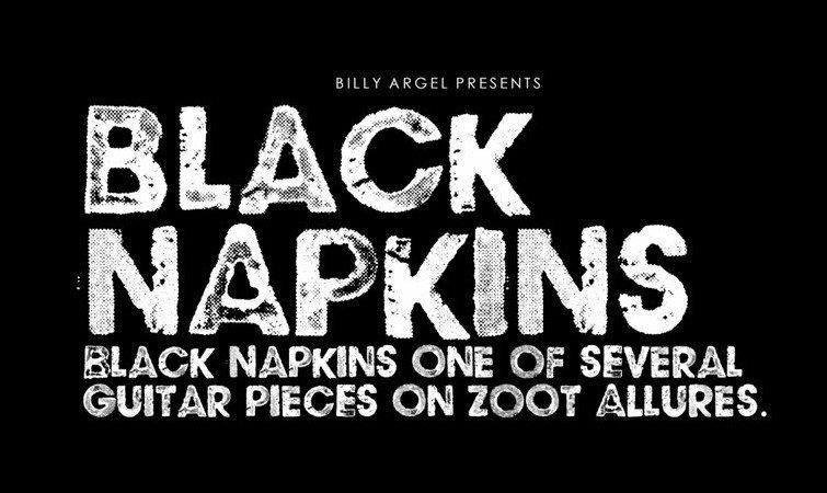 black napkin font - Black Napkins Font Free Download
