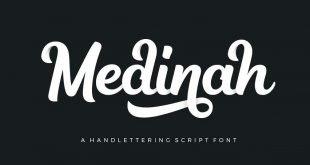 medinah script 310x165 - Medinah Script Font Free Download