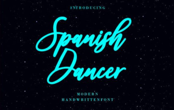 spanish dance - Spanish Dancer Font Free Download
